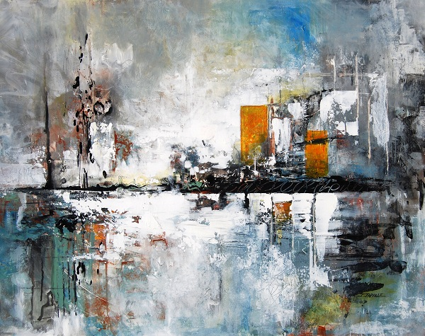 Abstract painting by Jeanette Jarville