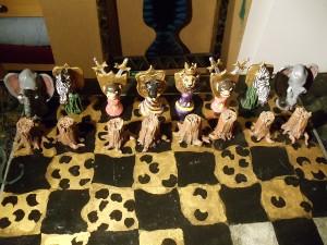 Jarville Chess pieces-animals