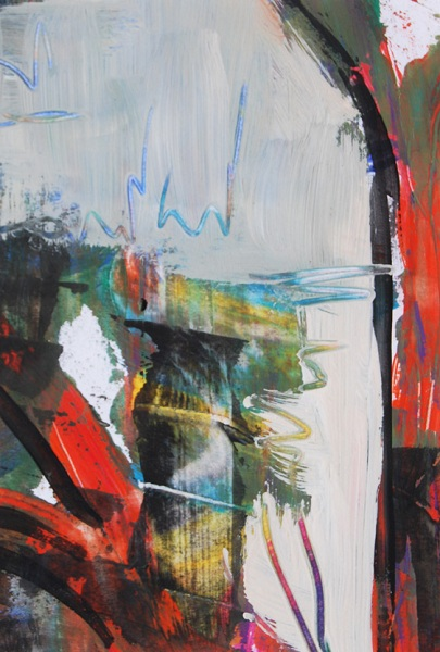 Jarville, Trunks, abstract painting