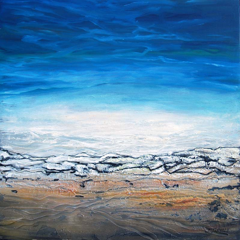 J. Jarville, Vast Tundra, abstract art