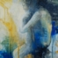 Thinker, acrylic original painting by Canadian Artist Jeanette Jarville